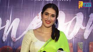 Sagrika Ghatge Inaugrating Semi Final Of Women Football & Monsoon Football Marathi Film Launch