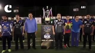 Stars adorn field for celebrity cricket series