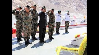 President Ram Nath Kovind visits Army camp in Siachen, world's highest battlefield