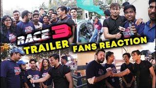 RACE 3 TRAILER REACTION By Salman Khan FANS | Crazy Fans