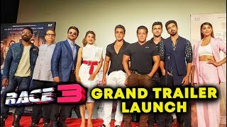 RACE 3 TRAILER LAUNCH FULL VIDEO | Salman Khan, Jacqueline, Anil Kapoor, Bobby, Saqib, Daisy