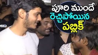 Mehbooba Movie theater coverage Video | Akash Puri, Neha Shetty, Puri Jagannadh | Top Telugu TV