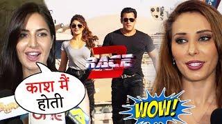 Katrina Kaif & Iulia Vantur's Reaction On Salman Khan's RACE 3 TRAILER