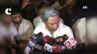 We are supporting JD(S) to form Government and have sent this resolution: Siddaramaiah