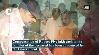 Varanasi Bridge Collapse: UP CM Yogi Adityanath meets victims in hospitals