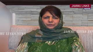 Mehbooba Mufti welcome Centre's decision to halt security ops during Ramzan