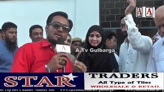 Kaneez Fatima Gulbarga Ki Pheli Muslim MLA Khatoon A.Tv News 15-5-2018