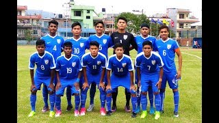 India u16 Vs Nepal u16 saff cup final extended highlights and goals HD