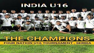 India U16 Vs  Tajikistan U16  ||  4-2  INDIA U-16s CROWNED CHAMPIONS OF FOUR-NATION TOURNAMENT ||