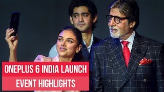 OnePlus 6 India launch: Watch event highlights | ETPanache