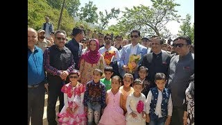 Ministers interact with students of Haji Public School