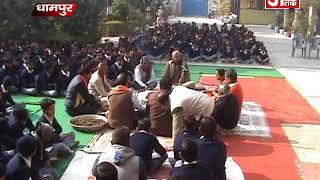 जनपद भर में पूजा- अर्चना के साथ रखा गया बसंत