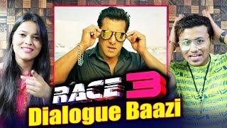 RACE 3 | BEST DIALOGUES | Salman Khan, Jacqueline, Bobby, Anil Kapoor, Bobby Deol, Saqib