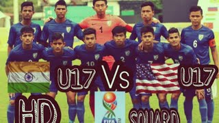 India U17 vs USA U17 Full match