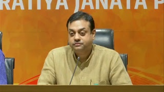 Press briefing by Dr. Sambit Patra on Supreme Court Judgement on Government formation in Karnataka