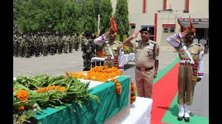 Tributes paid to BSF jawan martyred in Pakistan firing
