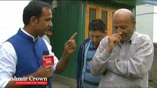 Er Rashid Talking To Kashmir Crown. Er Rashid To Welcome Modi With Black Bands.