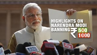 Narendra Modi Bans Rs 500 & 1000 notes | Highlights of Narendra Modi Speech | India Matters