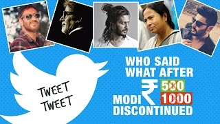 Who said what after Narendra Modi discontinued Rs 1000 and Rs 500 notes
