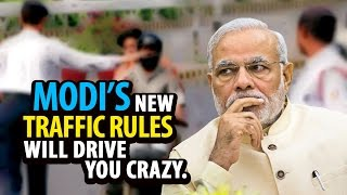 Modi's Strict Traffic Rules | Will Drive You Crazy | India Matters