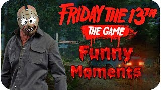 FRIDAY THE 13th (Game) Funny Moments Epic Fails Compilation | comedy video by Baklol Bunny
