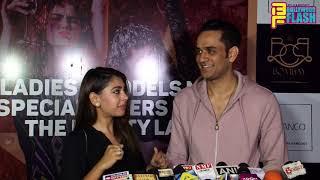 Niti Taylor GRAND Entry With Vikas Gupta - Palash Muchhal Birthday Party 2018
