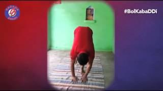 World Yoga Day with Dabang Delhi