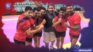 Rannvijay Singha at the Dabang Delhi Training Camp
