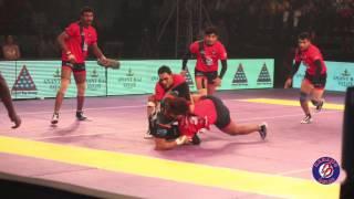Ravinder Pahal in Pro KabaDDi Season 2