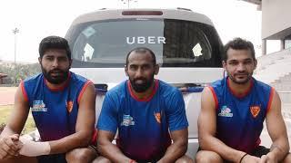 Dabang Delhi | Uber Partnership