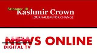 #JDUPresser JDU President GM Shaheen Holds Press Conference In Srinagar Today(By Shuja Baqal)