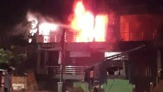 Shopping Mall under Fire # Balangir