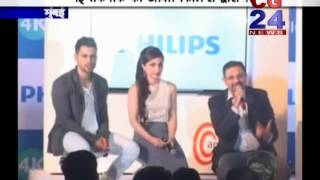 Philips 4k TV Soha Ali -Launching  CG 24 News