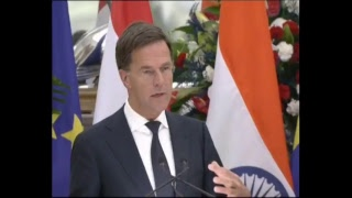 Signing of ISA agreements & Press Statements: State Visit of Prime Minister of Netherlands to India