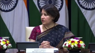 Media Briefing by Secretary (East) on upcoming visits of PM to Singapore & Indonesia