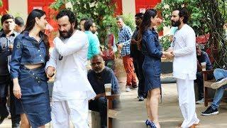 Gorgeous Kareena Kapoor And Saif Ali Khan Spotted At Bandra