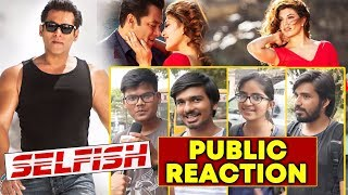 SELFISH SONG TEASER | RACE 3 | PUBLIC REACTION | Salman Khan, Jacqueline, Bobby Deol
