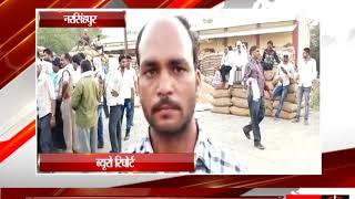नरसिंहपुर -अनाज को गुणवत्ताहीन बताने पर किसानों ने की समिति प्रबंधक की पिटाई  - tv24