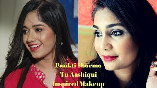 Pankti Sharma (Jannat Zubair Rahmani) Tu Aashiqui Inspired Makeup Look using Affordable Products