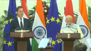 Joint Press Conference by PM Shri Narendra Modi & Netherlands Prime Minister Mark Rutte at New Delhi