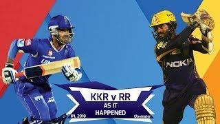 IPL 2018: Eliminator, KKR vs RR: As it happened