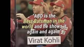 Cricket Greats on AB De Villiers