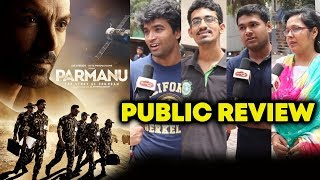 PARMANU PUBLIC REVIEW | First Day First Show | John Abraham, Diana Penty