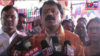 ASIFABAD COLLECTOR  VISIT TO GANGAPUR  JATHARA  TV11 NEWS 10TH FEB 2017