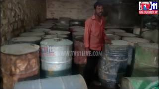 SUBSIDY KEROSENE SEIZED BY REVENUE OFFICER IN DHONE  TV11 NEWS 13TH FEB 2017