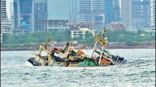 Floating cruise restaurent drown near bandra worli sea link