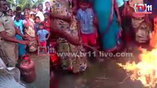 GAS CYLINDER SAFETY  AWARENESS BY  FIRE DEPARTMENT TV11 NEWS 23RD FEB 2017