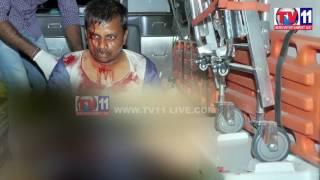 MURDER ATTEMPT ON SOCIAL ACTIVIST JAGADGIRIGUTTA  TV11 NEWS 24TH FEB 2017