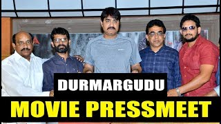 Durmargudu Movie Press Meet - Latest Telugu Movie Press Meet - Srikanth