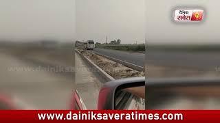 यात्रियों की जान से खेलते हुए सड़क पर निकली Punjab Roadways की Bus